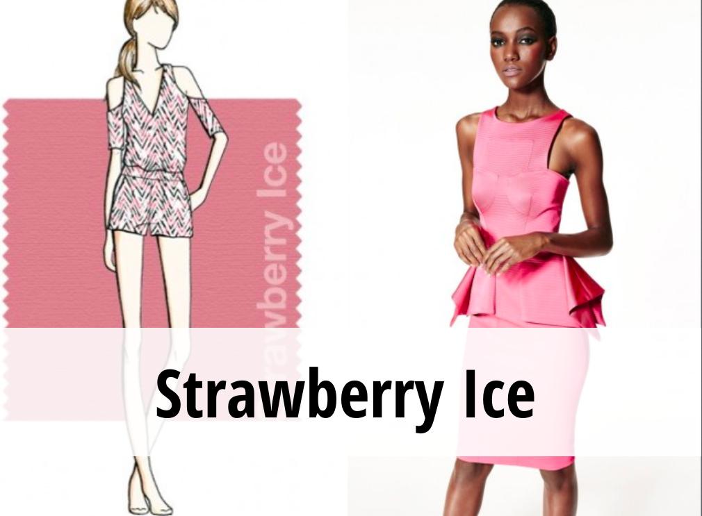 Strawberry Ice colori tendenza primavera