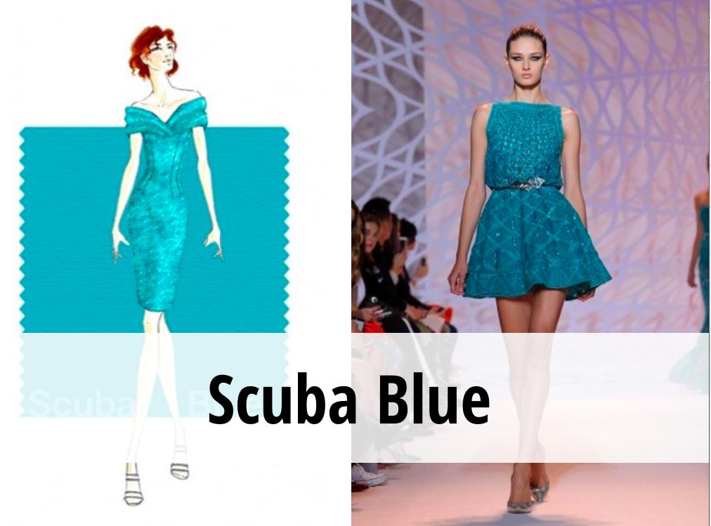 Scuba blu Pantone 2015
