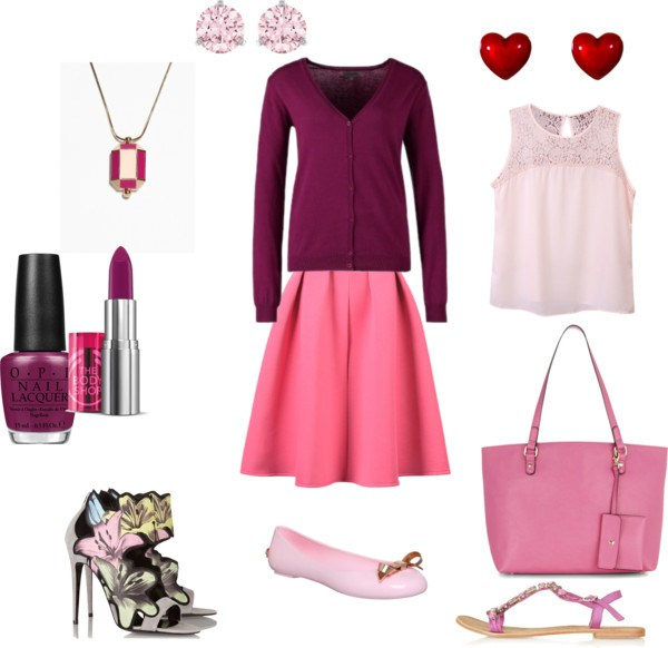 Come indossare lo strawberry ice by annaturcato featuring a long chain necklace