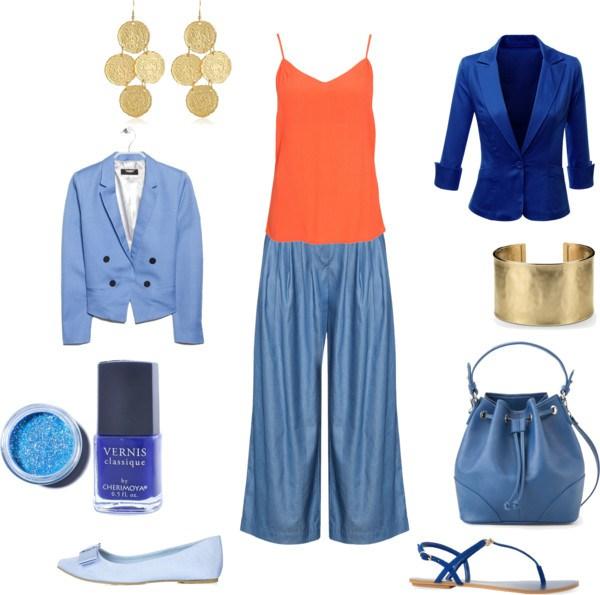 Come indossare il Tangerine by annaturcato featuring a linen blazer