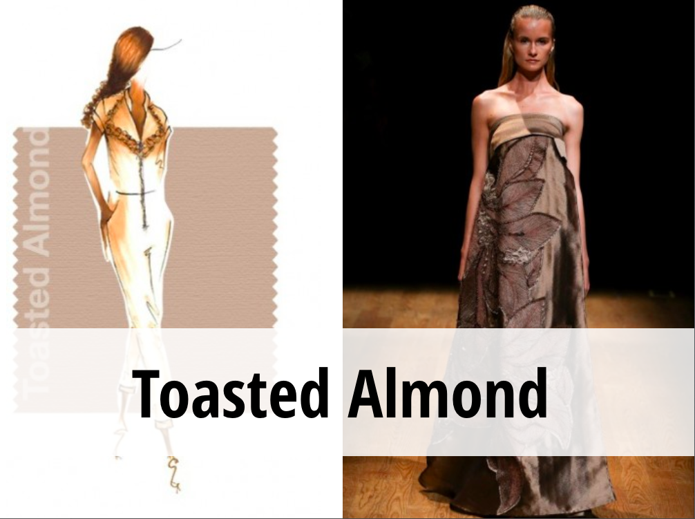 toasted almond colore tendenza primavera estate