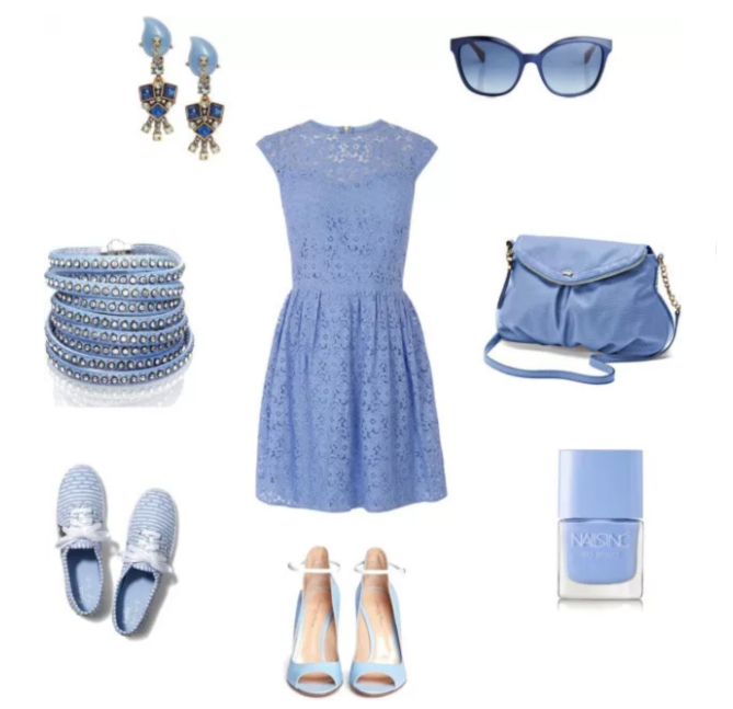 aAnna turcato light blue lady