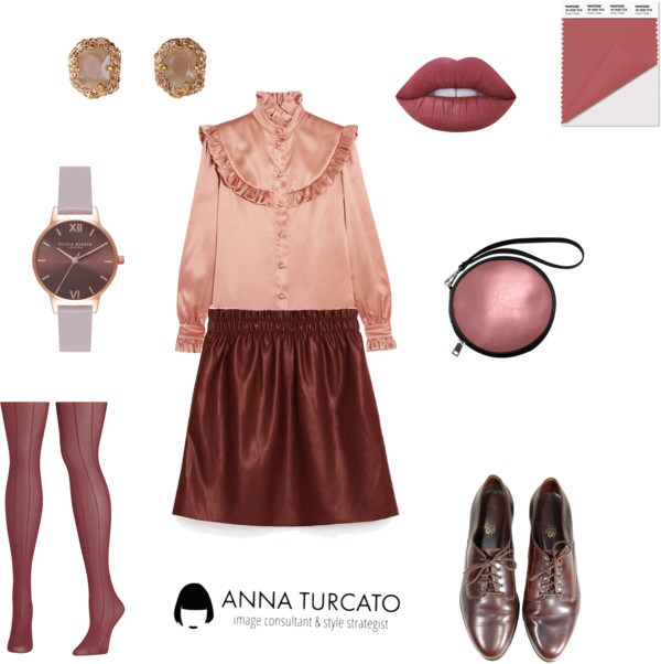 Dusty Cedar by annaturcato featuring a make up bag