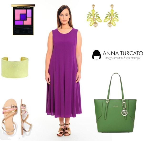Shiny Lady by annaturcato featuring a bangle bracelet