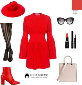 Red Grenadine by annaturcato featuring a red outfit